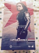 Hot Toys 1/6 Captain America The Winter Soldier Bucky Barnes MMS241