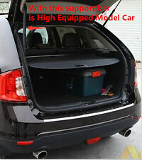 Trunk Shade BLACK Cargo Cover For Ford Edge 2011 2012 2013 High-Equipped Model