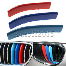 M-Sport 3-Color Center Grille Insert Trims For BMW F10 F11 5 Series Kidney 3D