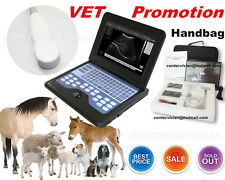 "Digital 10.1"" Vet Laptop Veterinary Ultrasound scanner 3.5m Cardiac/convex probe"