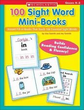100 Sight Word Mini-Books: Instant Fill-in Mini-Books That Teach 100 Essential