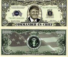 CinC 45th President Trump Million Dollar Bill
