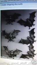 BAG OF 6 AWESOME BATS BRAND NEW GREAT DECORATION FAST FREE SHIPPING !!