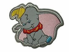Dumbo the Elephant Big Ears Embroidered Iron On/Sew On Patch