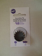 Wilton Cake decorating Tip # 6B Cake Decorating Tool new