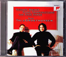 DUO TAL & GROETHUYSEN WAGNER Piano Transcription Meistersinger Parsifal Faust CD
