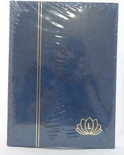 Stockbook album for stamps Lindner 32 pages Blue