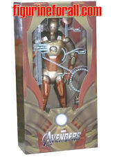 "Neca AVENGERS IRON MAN MIDAS GOLD ARMOR XXI 18"" 1/4 Scale W/LED Figure Marvel"