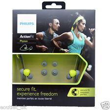 Philips SHQ4300LF ActionFit Deportes A prueba de humedad In-Ear Headphones RRP £ 30 Nuevo