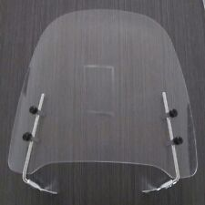 CLEAR GY6 125 / 150CC SCOOTER MOPED DIRT BIKE MOTORCYCLE WINDSHIELD SCREEN VISOR