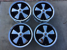 Detailed Porsche Fuchs Wheels with Hearts(CHROME) VW 5x205 bolt  Wide 5