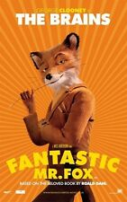 POSTER FANTASTIC MR FOX WES ANDERSON GEORGE CLOONEY 6