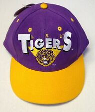 NWT NCAA LSU Tigers Boys Logo 7 Vintage Snapback Cap Hat NEW!