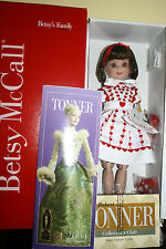 BETSY MCCALL 14 Inch BY TONNER W/BENT KNEE NIB NRFB w/ SHIPPER