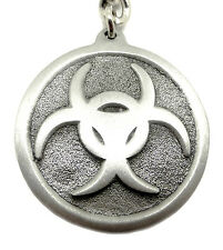 Biohazard Symbol Keyring Key Ring Horror Zombie Themed Official Branded Product