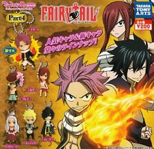 Takara Tomy Fairy Tail Deformed mini Swing Keychain Part4 Completed Set 6pcs