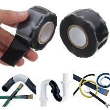 3M Black Self Fusing Excluder Rescue Wire Hose Repair Seal Tape Silicone Rubber