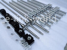 SBR20--350/800/1200mm rail RM2005-400/850 /1250/1250mm Ballscrew &BF15/BK15 Kit