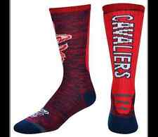 For Bare Feet Originals NBA Cleveland Cavaliers Logo Crew Socks Men's Large FBF