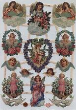 # GLANZBILDER # EF 7283 , Engel wunderschöne Motive mit GLIMMER