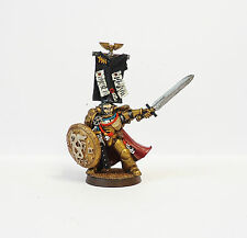 WARHAMMER 40K ARMY SPACE MARINE CHARACTER   PAINTED AND BASED