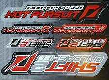 Official Playstation Magazine 2 Need for Speed - Shift 2 Stickers