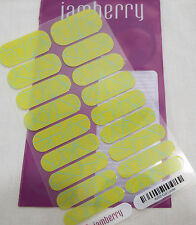 Jamberry Cut Loose A202 Nail Wrap  (Full Sheet ) Retired Design