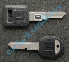GM Buick Cadillac Chevrolet Pontiac OEM #13 Vats Code & Secondary H Key Blanks