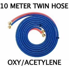OXY / ACETYLENE (10-Meter) TWIN GAS HOSE with Fittings