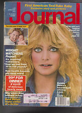 Ladies Home Journal Goldie Hawn Samantha Steel Test Tube Baby January 1982