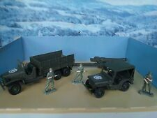 1/43  Solido (France)  Military US vehicles set #7025