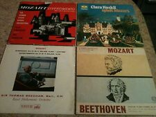 MOZART * 4 X LP COLLECTION * EMI/HMV ALP1536 / LYRIQUE / TOP RANK / GRAMMOPHON