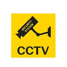 LOT OF 10 SECURITY STORE CCTV CAMERA WARNING STICKERS