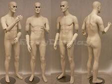 Fiberglass Male Dummy Mannequin Manikin Dress form Display Clothing #MD-BC8S