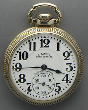 A WATCH YOU CAN HONESTLY TRUST IN A 16s 23J 60Hr Bunn Special Railroad Grade PW!