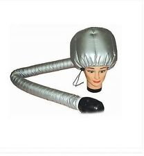 SALON HAIRDRESSING Portable Hair Dryer Soft Hood Bonnet Attachment NEW -UK STOCK