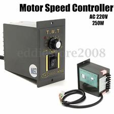 AC 220V 250W Motor Speed Controller Variable Frequency Converter Electronic Tool