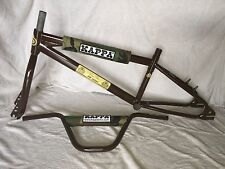 Brown Kappa PK-20 BMX Frame, Fork, Bars and Pads NIB