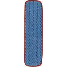 10 x Rubbermaid microfibra PULSE Mop Pad PULIZIA attrezzature forniture Mopping