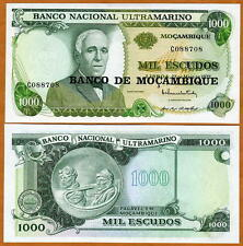 Mozambique, 1000 escudos, ND (1976), P-119, UNC -  large