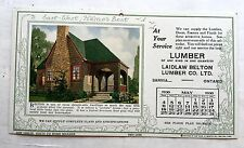 May 1930 Hame's Homes Advertising Calendar w/ New House Styles Bolton Style