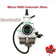 Mikuni VM26 30mm Carburetor For 150cc 160cc 200cc 250cc Pit Dirt Bike Motocross