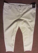Ava Viv Denim Ankle Length Crop Leggings Jeans Pants Women's - 26W - CC41