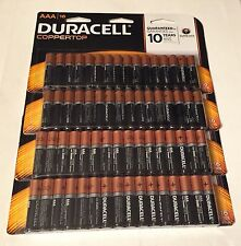 (4) New Packs Duracell Coppertop Duralock AAA Batteries 64 Count