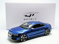 GT Spirit 2012 Audi RS5 Sepang Blue 1/18 Scale LE of 504 New Release! In Stock!