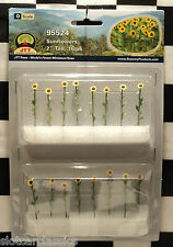 "JTT SCENERY 95524 SUNFLOWERS 2"" O-SCALE  16 PER PACK       JTT95524"