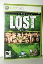 LOST VIA DOMUS USATO OTTIMO STATO XBOX 360 EDIZIONE ITALIANA GP1 39821