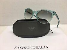 New Emporio Armani Women's Green Pearl EA4025 5204/4S Sunglasses