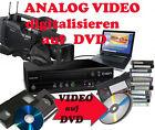 VHS-C Video 8, Hi8, MiniDV, D8, auf DVD digitalisieren Überspielen Kopieren