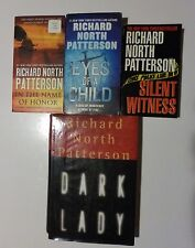 Lot of 4 Mystery Suspense Thrillers by Richard North Patterson,PB & HB 1st Ed